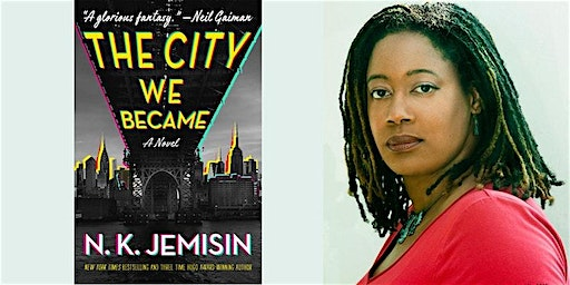 N K Jemisin Book Launch Tour: The City We Became