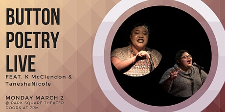 Button Poetry Live March! tickets