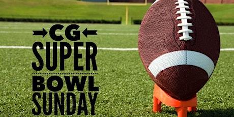 CG Super Bowl Sunday tickets