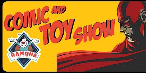 Comic and Toy Show at Ramona Flea Market