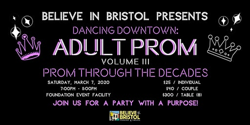 Dancing Downtown: Adult Prom Volume III