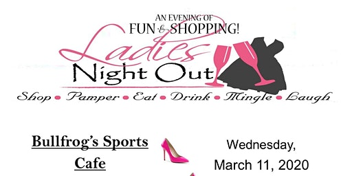 Ladies Night Out (men not excluded)