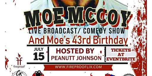 The Roast Of Moe McCoy Part 3 Live Broadcast/ Comedy Show & Moe McCoy 43rd