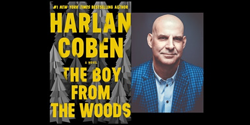 Harlan Coben signs THE BOY FROM THE WOODS
