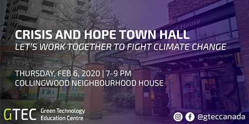 Crisis and Hope Town Hall