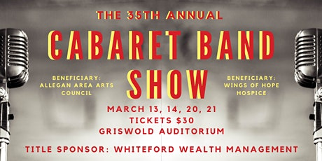 35th Annual Cabaret Band Show - March 14, 2020 tickets