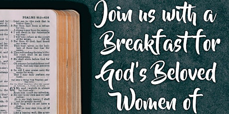 "WCCC Womens Breakfast - ""There is a Gift inside you"" tickets"