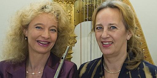 """Vijf mei concert """"75 jaar vrijheid"""" met fluit, altviool en harp"""