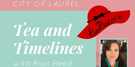 Tea and Timelines with Rian Reed tickets