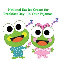 Eat Ice Cream for Breakfast with Scoop - In Your Pajamas tickets