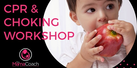 Child and infant CPR and choking mini workshop tickets