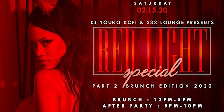 RED LIGHT SPECIAL PT. 2 [BOTTOMLESS BRUNCH + DAY PARTY] tickets