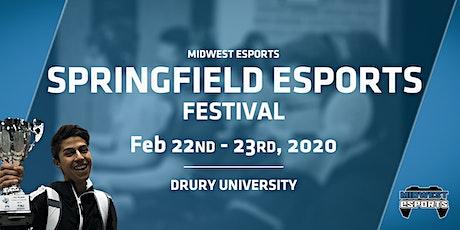 Springfield Esports Festival 2020 tickets