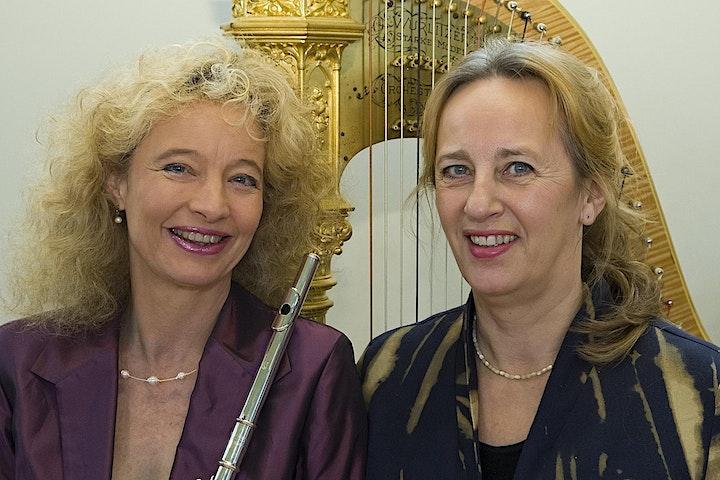 """Afbeelding van Vijf mei concert """"75 jaar vrijheid"""" met fluit, altviool en harp"""