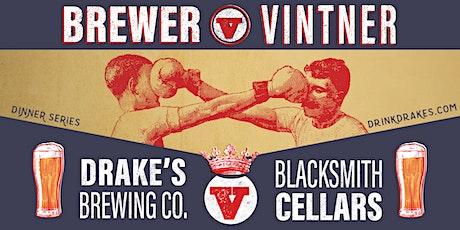 Brewer V Vintner: Pairing Dinner tickets