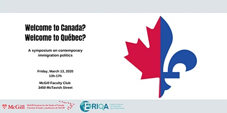 Welcome to Canada? Welcome to Québec? tickets