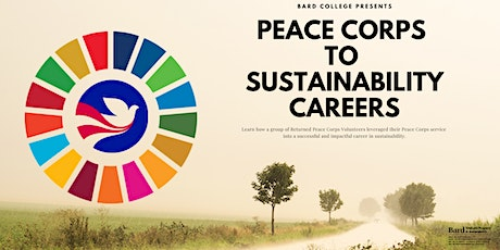 From the Peace Corps to a Sustainability Career tickets