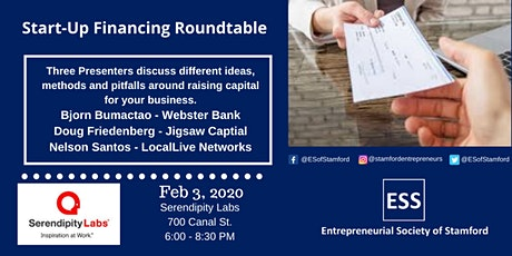 Start-up Financing Roundtable presented by ESS tickets