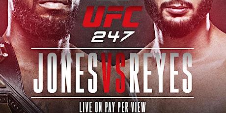 Jones vs Reyes @barCode NJ tickets