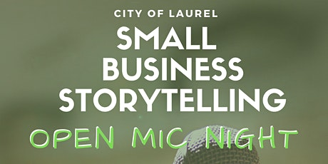 Small Business Storytelling: Open Mic Night tickets