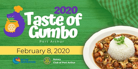 Port Arthur Rotary Taste of Gumbo 2020 tickets
