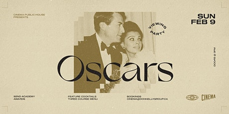 10th Annual Oscar Party at Cinema tickets