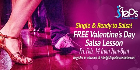 Free Class - Salsa for Singles!  tickets