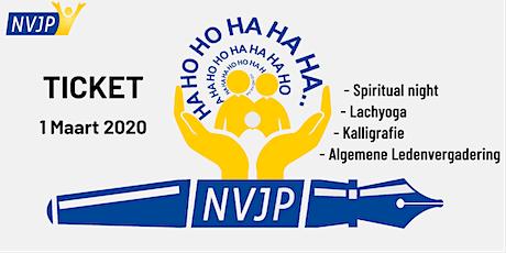 NVJP Ledendag 1 maart 2020 tickets