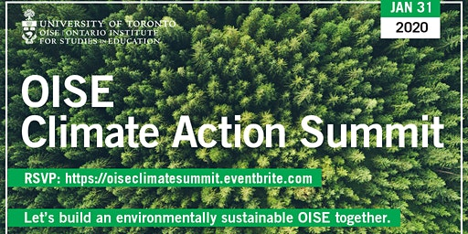 OISE's Climate Action Summit