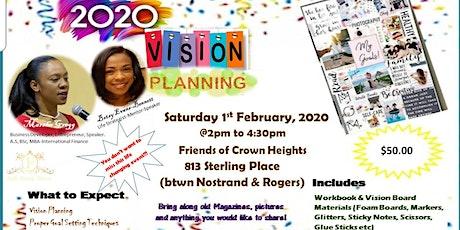 Vision Planning tickets