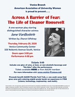 A Play of Historical Significance - Eleanor Roosevelt