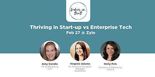 Ladies in SaaS: Thriving in Start-up vs Enterprise Tech