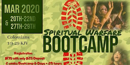 6 Day Spiritual Warfare Bootcamp