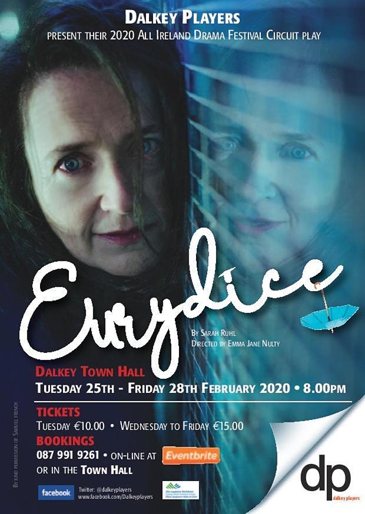 Eurydice by Sarah Ruhl directed by Emma Jane Nulty image