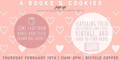 A Books & Cookies Pop-Up: Brown Bag Books tickets