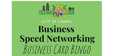 Business Speed Networking: Business Card Bingo tickets