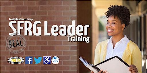 R.E.A.L. Family Readiness Group (SFRG) Leader Training