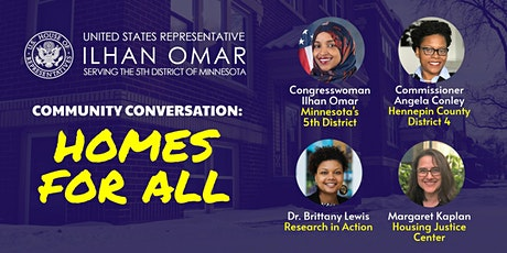 Community Conversation: Homes for All tickets