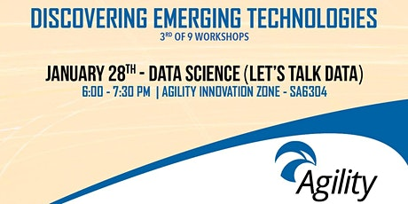 Emerging Technologies Workshop: Data Science tickets