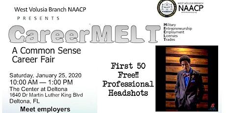 (Free Professional Headshots First 50 People) Career MELT A Common Sense Career/Job Fair tickets