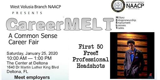 (Free Professional Headshots First 50 People) Career MELT A Common Sense Career/Job Fair