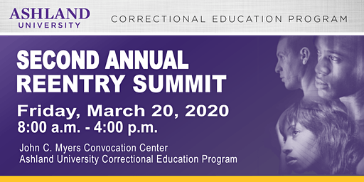 Ashland University Correctional Education Second Annual Reentry Summit
