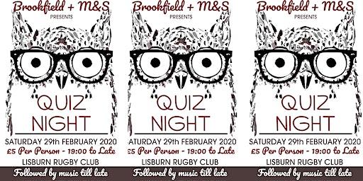 Brookfield School & M&S Table Quiz
