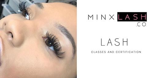 Minx Eyelash - Lash Certification Class