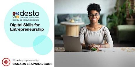 Digital Skills Entrepreneurship Program billets