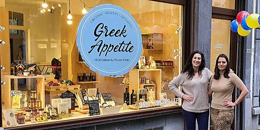 Greek Appetite (Vegan & Veggie Original Greek Food) - Closing Party