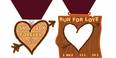 2020 Run 4 Love 1M, 5K, 10K, 13.1, 26.2 -San Antonio