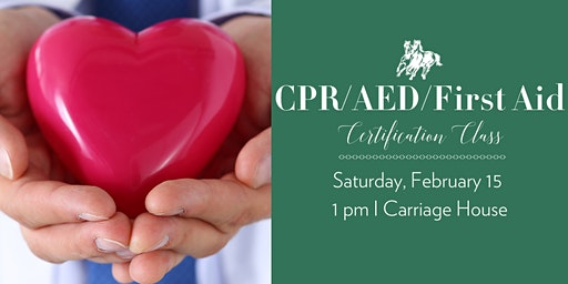 CPR/AED/First Aid Certification Class