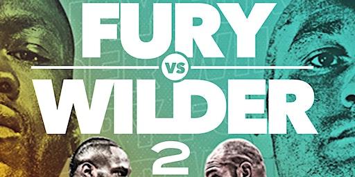 Fury vs Wilder @barcode nj