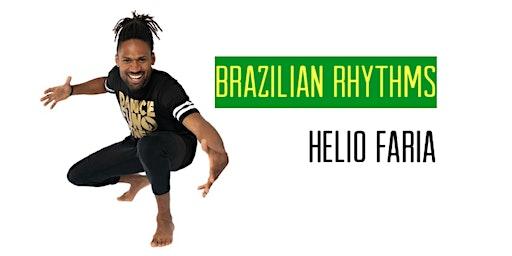 Brazilian Rhythms WORKshop with Helio Faria